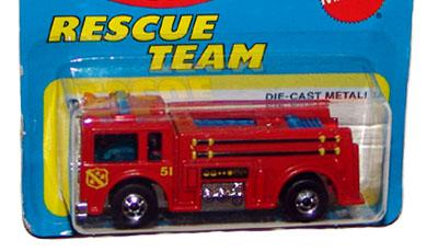 FIRE EATER FIRE TRUCK MARVEL SPIDER MAN 06//08 HOT WHEELS HW DIECAST 2014