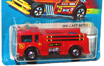 Hot Wheels City Center Red Fire Eater Loose