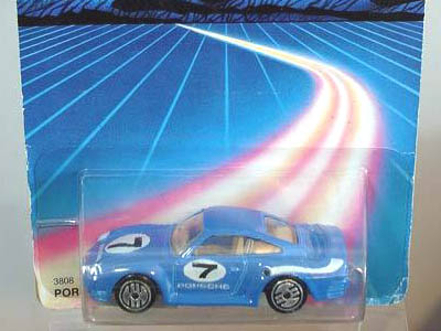 Hot Wheels Porsche 959  #591 Lt Blue 5sp