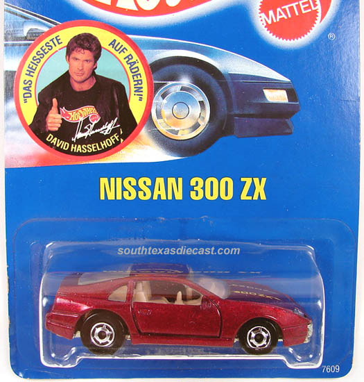 "Hot Wheels Nissan Custom /""Z/"" #600 Dark Blue"