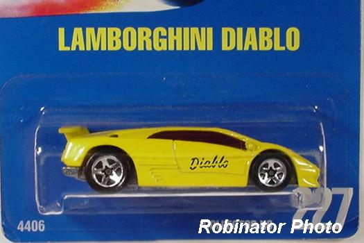 Hot Wheels Guide Lamborghini Diablo