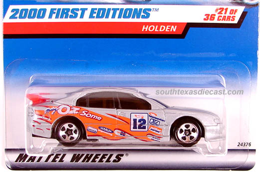 HOT WHEELS 2001 SS COMMODORE #143 YELLOW HOLDEN