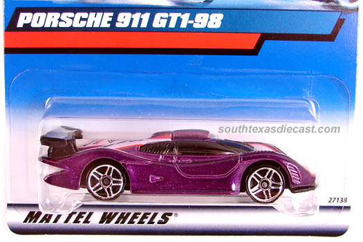 Hot Wheels Guide Porsche 911 Gt1 98