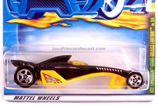 2001 Rod Squardron Series HOT WHEELS GREASED LIGHTNIN #067