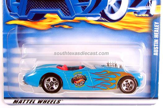 HOT WHEELS 2001 Austin Healey 53710