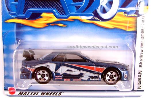 2002 Hot Wheels #32 First Edition Custom /'59 Cadillac