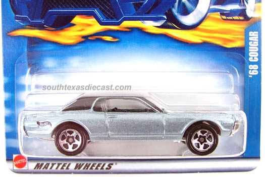 Hot Wheels Sweet Rides 68 Mercury Cougar 5//6 Mattel