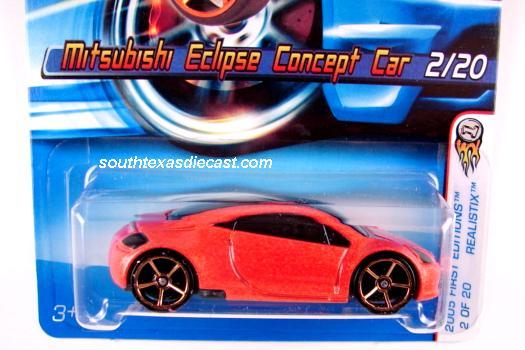 Hot Wheels Guide Mitsubishi Eclipse Concept Car