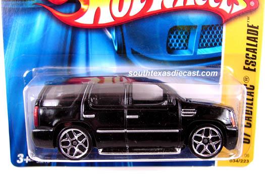 Hot Wheels Cadillac Escalade