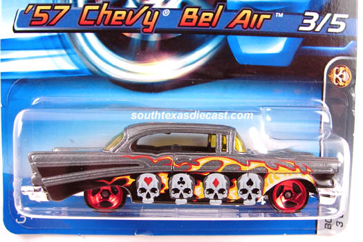 Hot Wheels Guide 1957 Chevy Bel Air