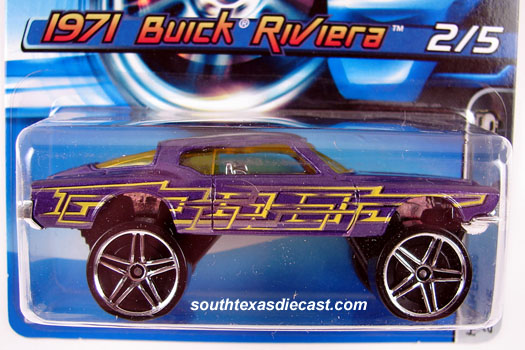 Hot Wheels Guide - 1971 Buick Riviera / Lowrider / Donk