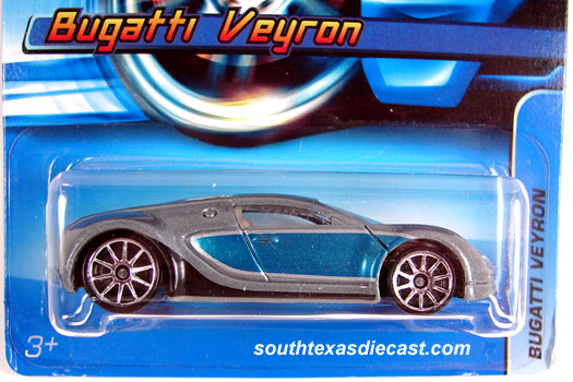 Bugatti Veyron Hot Wheels Car