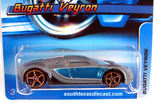 Hot Wheels Guide - Bugatti Veyron