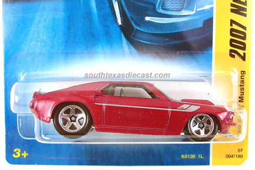 Hot Wheels Guide 69 Ford Mustang