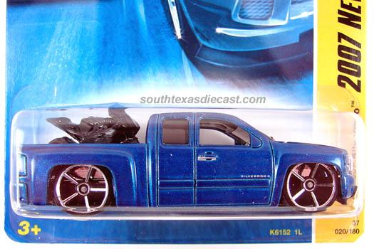 Hot Wheels Guide 2007 Chevy Silverado 07 Off Road