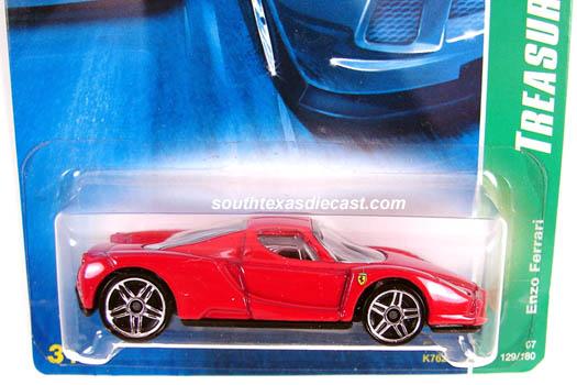 Hot Wheels Guide Enzo Ferrari