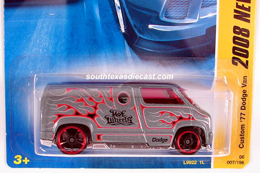 Hot Wheels Guide - Custom '77 Dodge Van