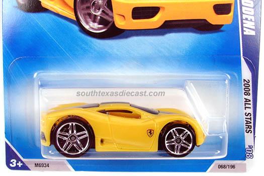 Ferrari 360 Modena Yellow. Ferrari 360 Modena