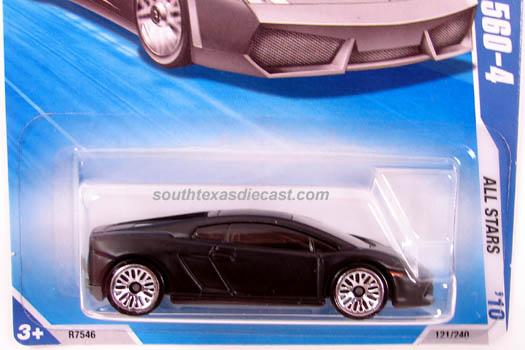 Hot Wheels Guide Lamborghini Gallardo Gallardo Lp 560 4