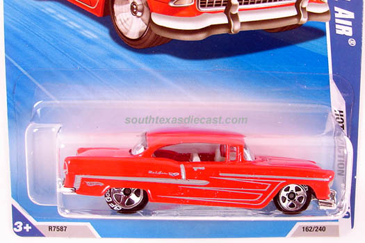 Hot Wheels Guide 1955 Chevy Bel Air