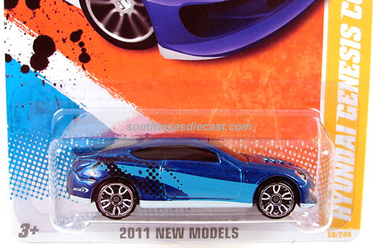 Hot Wheels Guide Hyundai Genesis Coupe