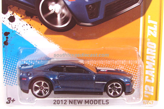 Hot Wheels Guide 12 Camaro Zl1 Concept
