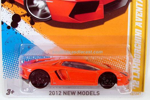 Hot Wheels Guide - '12 Lamborghini Aventador LP 700-4 / Aventador Miura Homage