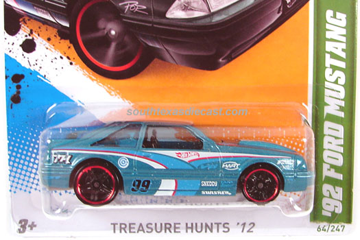 Hot Wheels Guide 2012 Treasure Hunt Series