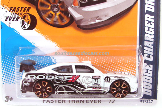Hot Wheels Guide Dodge Charger Drift Car