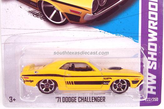 Hot Wheels Guide 71 Dodge Challenger