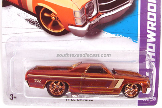 Hot Wheels 71 El Camino