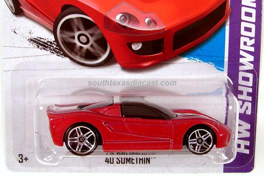 Hot Wheels HW Showroom Scavenger Hunt 2008 Tesla Roadster Black KROGER EXCLUSIVE