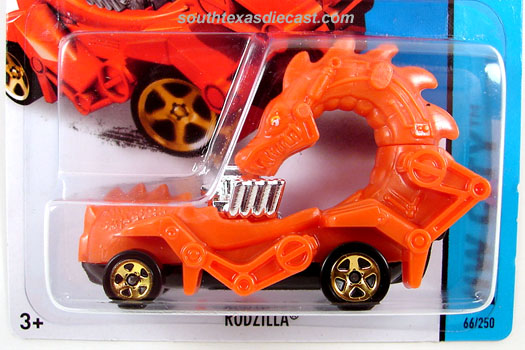 2014 hot wheels hw city medieval rides orange w white eyes black
