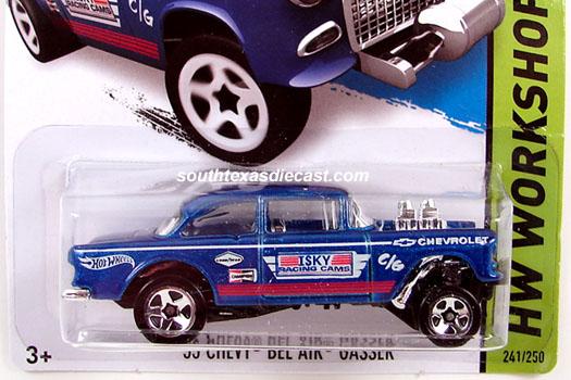 Hot Wheels Guide - '55 Chevy Bel Air Gasser