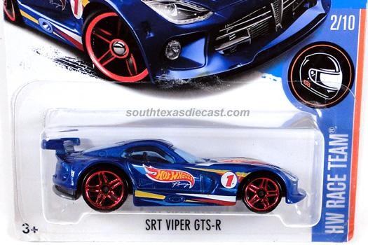 2018 Hot Wheels Loose 5 Pack Exclusive Gold SRT Dodge Viper GTS-R