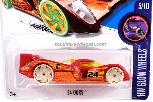 HOT WHEELS 2012 24 ours v5357