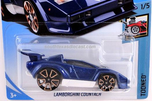Hot Wheels Guide Lamborghini Countach Tooned