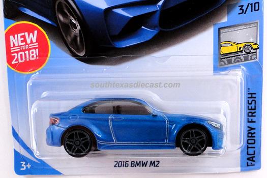 Hot Wheels Guide - 2016 BMW M2