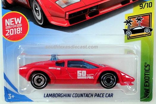 Hot Wheels Guide Lamborghini Countach Pace Car