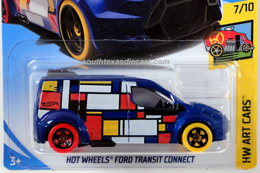 Hot Wheels Guide HW Ford Transit Connect Hot Wheels