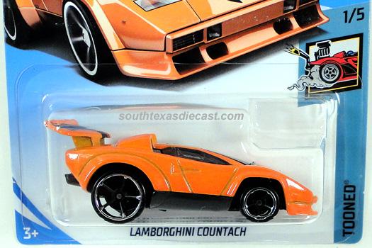hot wheels guide - lamborghini countach (tooned)