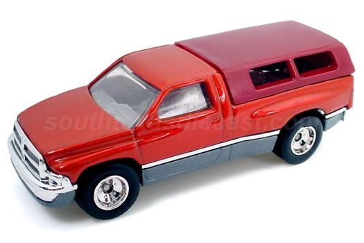 1997 Hot Wheels Dodge Ram 1500 Red White #797