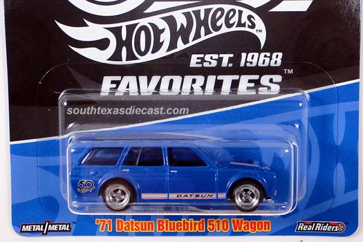 Hot Wheels Guide - '71 Datsun Bluebird 510 Wagon