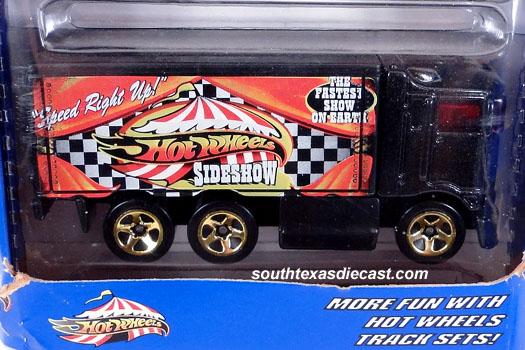 2000 Hot Wheels Sideshow Circus Hiway Hauler