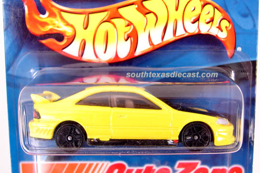 Hot Wheels Guide Honda Civic Si Coupe 2001