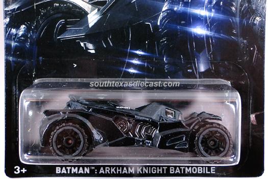 Batman Hot Wheels Releases