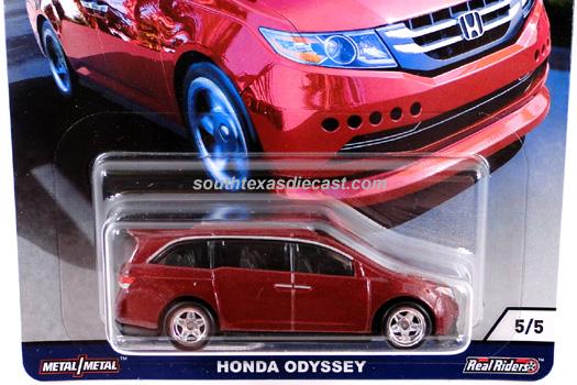 hot wheels guide honda odyssey
