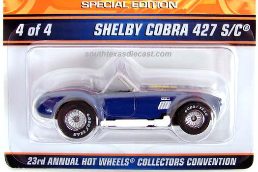 Hot Wheels 2001 Shelby Cobra 427 s//c 53769