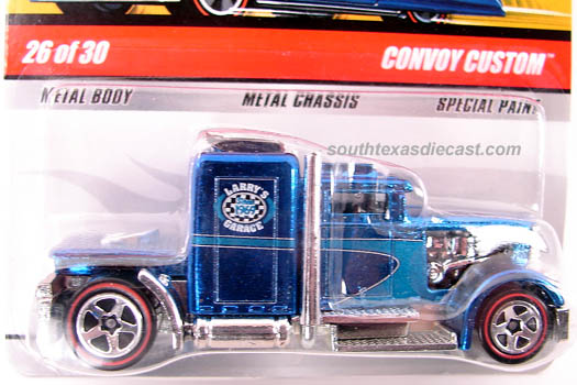 Hot Wheels Classic Series 5 #26 Black Convoy Custom Truck