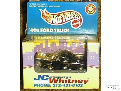 Hot Wheels Guide - J C  Whitney Exclusives